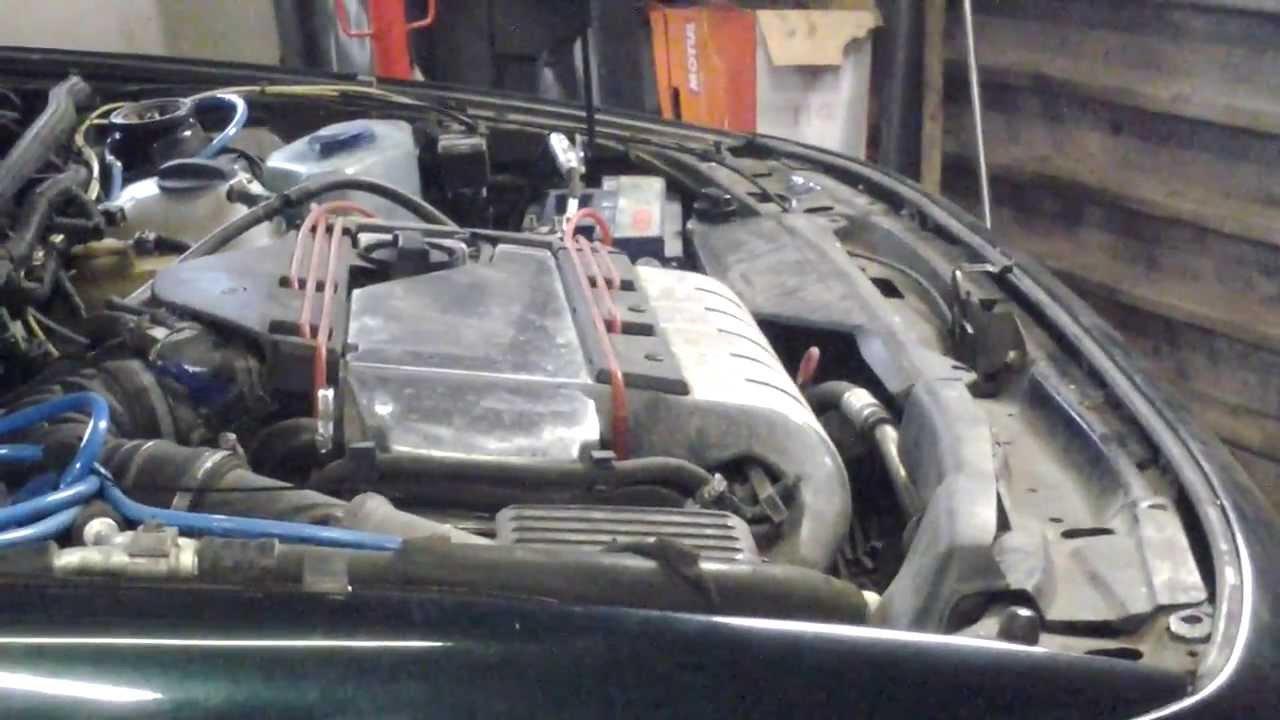 Passat B3. Неисправная передняя подушка двигателя