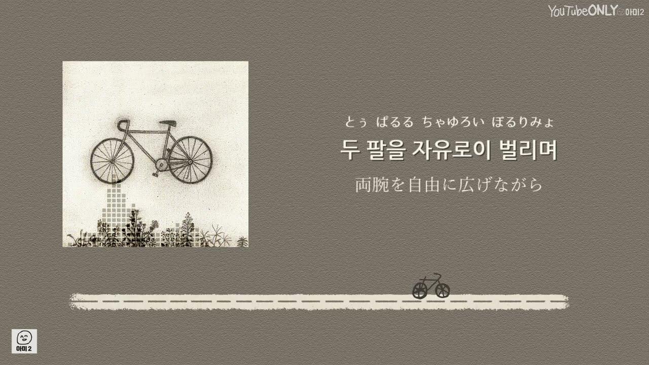 日本語字幕【 Bicycle 】 RM of BTS 防弾少年団
