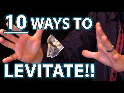 10 Ways to LEVITATE!! (Epic Magic Trick How Tos Revealed!)