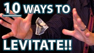 Gambar cover 10 Ways to LEVITATE!! (Epic Magic Trick How To's Revealed!)
