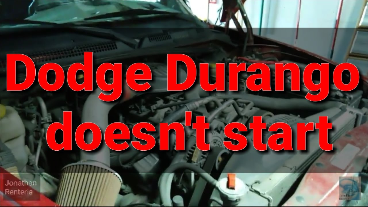 small resolution of dodge durango crank no start