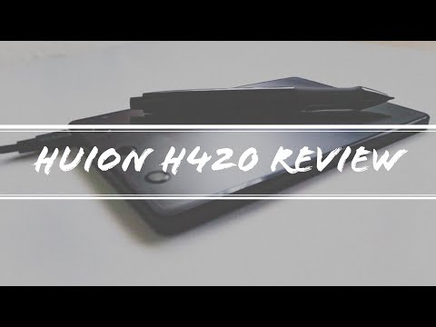 Huion H420 | Graphics Tablet Review