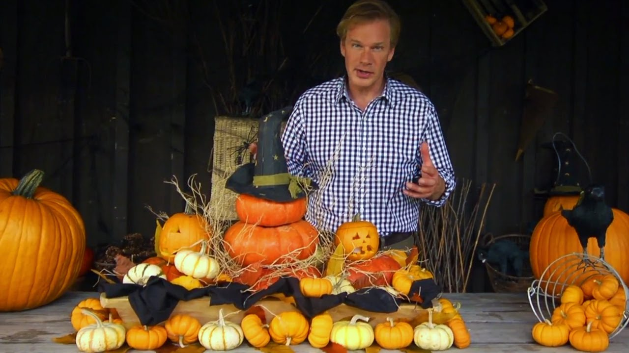 Halloween Centerpieces  At Home With P Allen Smith  YouTube