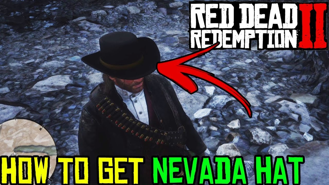 HOW TO GET NEVADA HAT IN RED DEAD REDEMPTION 2 - RDR 2 SECRET HAT LOCATION