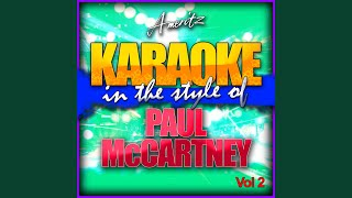 Sgt. Pepper's Lonely Hearts Club Band (In the Style of Paul McCartney) (Karaoke Version)