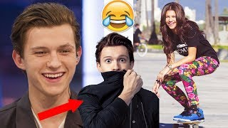 Tom Holland & Zendaya Funny Moments - Spider-Man: Homecoming - 2017