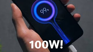 The World's FASTEST Charging Phone (Xiaomi 100w charger)