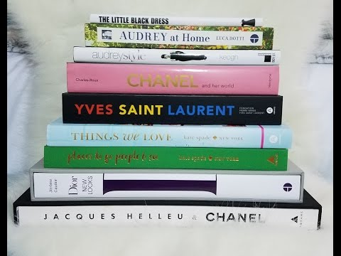 Coffee Table Books! ( Chanel, YSL, Dior, Kate Spade & More)