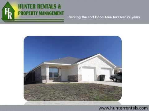 Rental Properties In Killeen: Duplexes