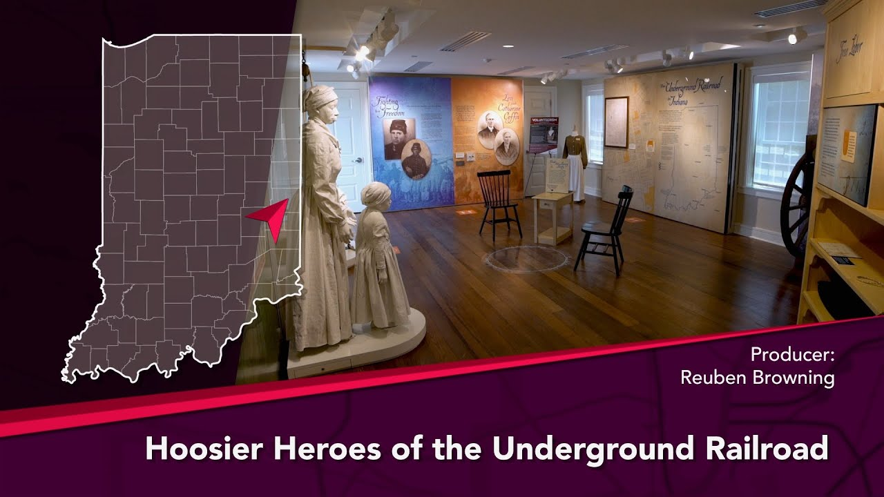 Journey Indiana - Hoosier Heroes of the Underground Railroad: Levi and Catharine Coffin