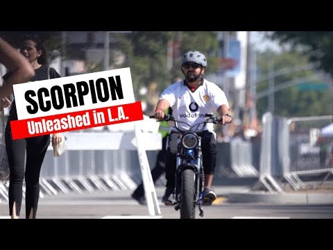 Riding the New Scorpion in L.A.