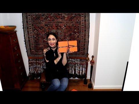 Hermes sandals/scarf magnets unboxing