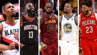 nba 1st team all nba best plays from lebron james james harden more