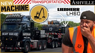 How We Transported My New Liebherr Machine to London and Why I Need It