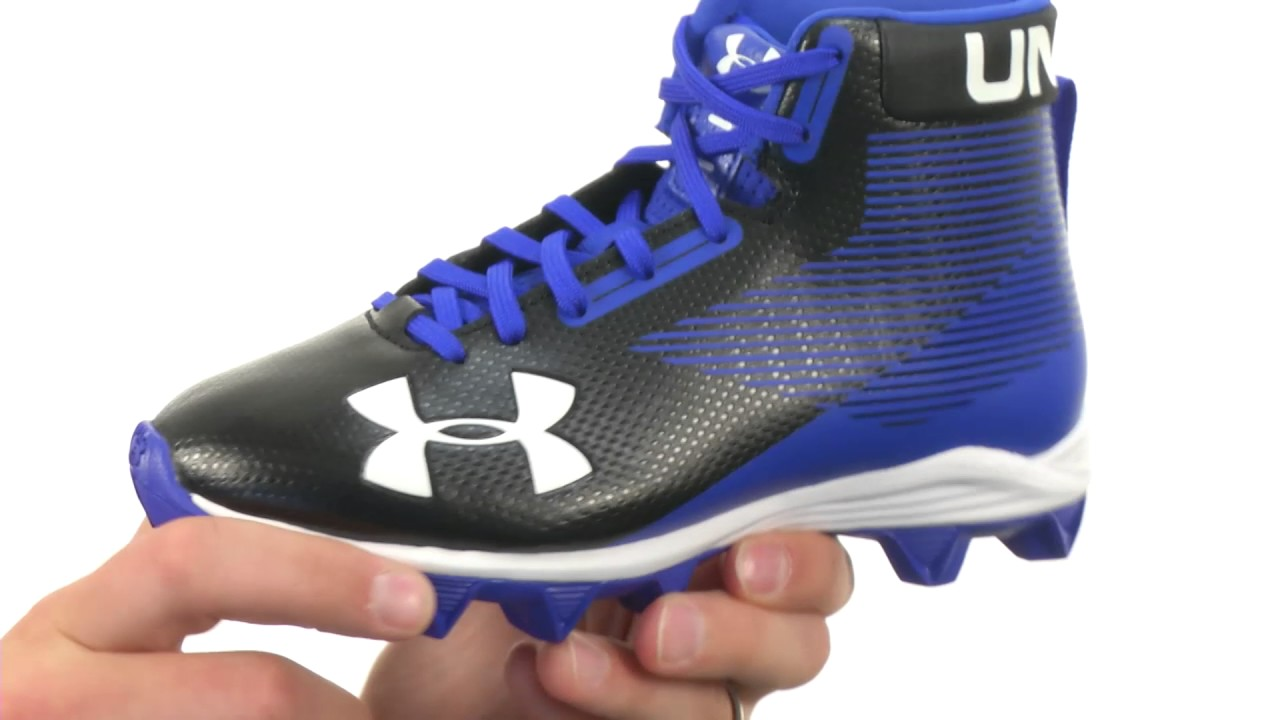 7f0723596080 Under Armour Kids UA Hammer Mid RM Jr. Football (Little Kid/Big Kid) SKU :8845297