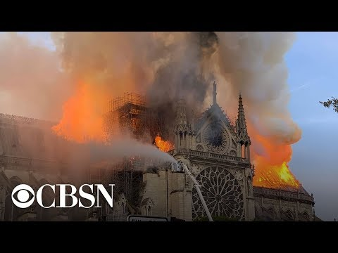 Stichiz - BREAKING NEWS: Notre Dame Cathedral in Paris on fire