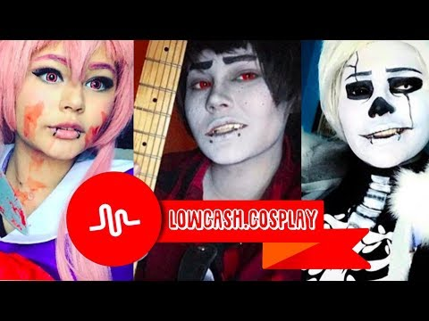 Lowcash.cosplay Cosplay Musical.ly Compilation 2017