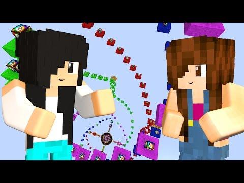 Minecraft - CORRIDA DE LUCKY BLOCK ESPIRAL - Видео из Майнкрафт (Minecraft)