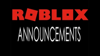 ANNUNCI ROBLOX! (DEVE GUARDARE)