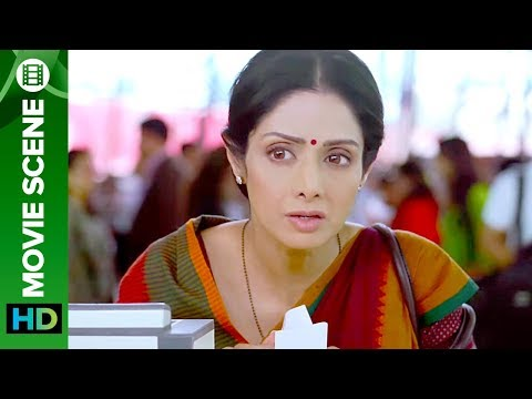 Sridevi cannot pass the immigration