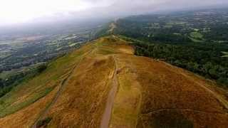 The Magnificent Malvern Hills, Worcestershire Beacon.