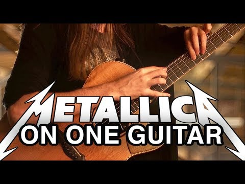 Mike Dawes - One (Metallica) - Solo Guitar