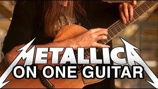 Mike Dawes - One (Metallica) - Solo Guitar