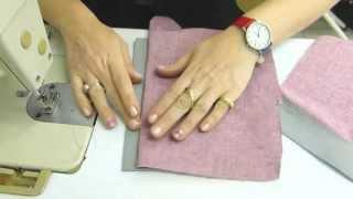 איך תופרים רוכסן למכנס | How to sew a front fly zipper