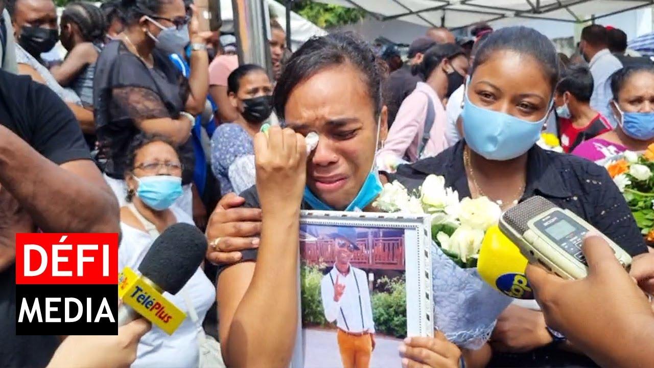 Download Funérailles de Lin : « Tou so soufrans inn fini » confie sa femme en pleurs