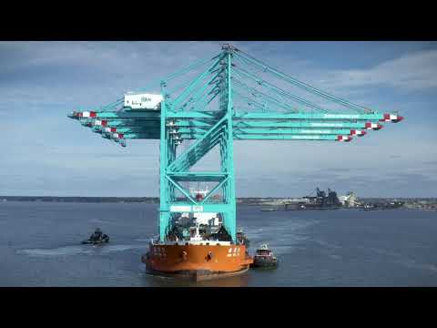 The Capacity for Greatness - Crane Arrival at The Port of Virginia