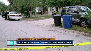 Accidental shooting injures 10-year-old in St. Pete
