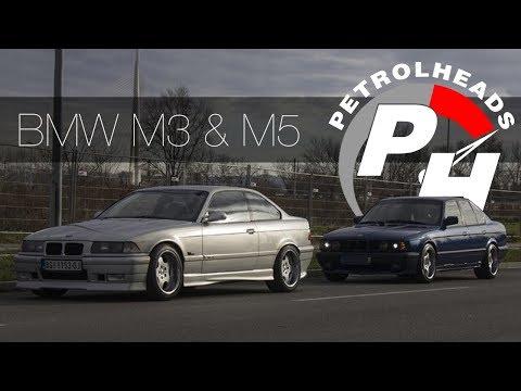 BMW M3 e36 vs BMW M5 e34 / Ikone '90-ih