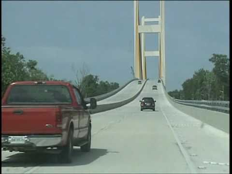 John J. Audubon Bridge opens in Louisiana