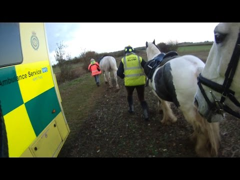 Horse riders and Body Protectors - this is why we should all use them.