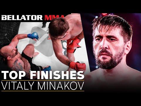 Vitaly Minakov's Best Knockouts | Bellator MMA