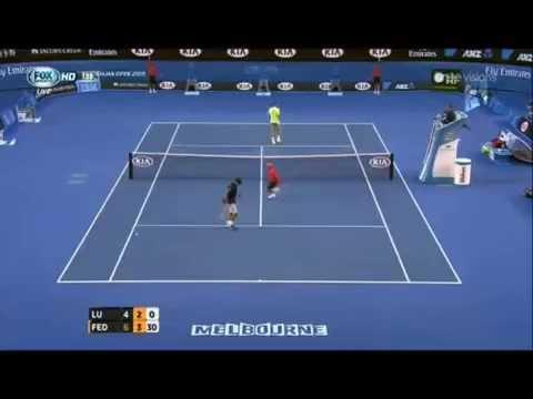 Roger Federer vs LU Yen-Hsun Highlights Australian Open 2015 Round 1