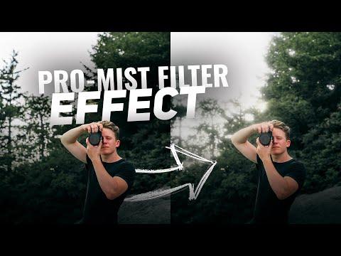 Black PRO-MIST Filter EFFECT - Adobe Premiere Pro And Photoshop CC Tutorial