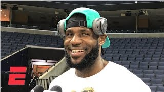 LeBron James: 'I don't believe in pressure' | NBA Sound