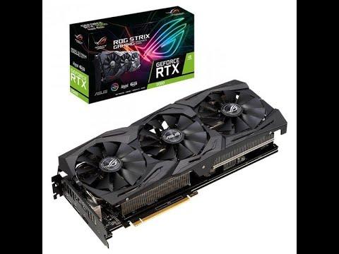 Asus PCI-Ex GeForce RTX 2060 ROG Strix O6G Gaming OC 6GB GDDR6 (192bit) (1860/14000) (2 x DisplayPort, 2 x HDMI 2.0b) (ROG-STRIX-RTX2060-O6G-GAMING)