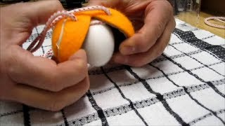 How To Scramble Eggs In The Shell With A Tennis Ball