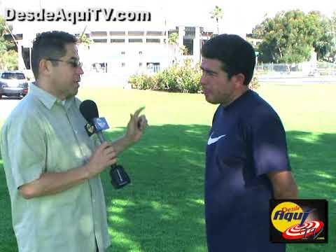 DesdeAquiTV.com Deportes, Mauricio Cienfuegos entrevista parte #1