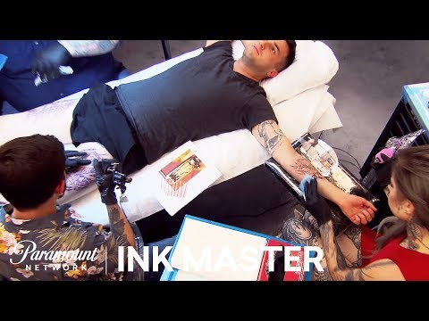 'Make Me A Cyborg' Elimination Tattoo Preview | Ink Master: Season 8