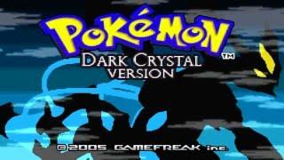 Pokemon Dark Crystal - Pokemon GBA ROM HACK showcase