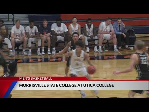 Utica College Men's Basketball Beats Morrisville State College