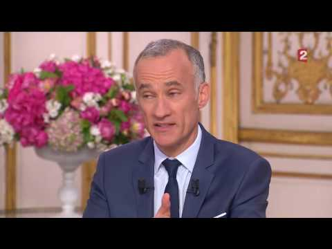 Interview du président Francois Hollande 14 juillet 2016
