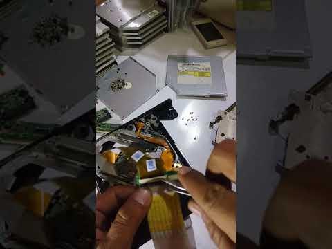 Cara bongkar pasang dvd drive full repaire