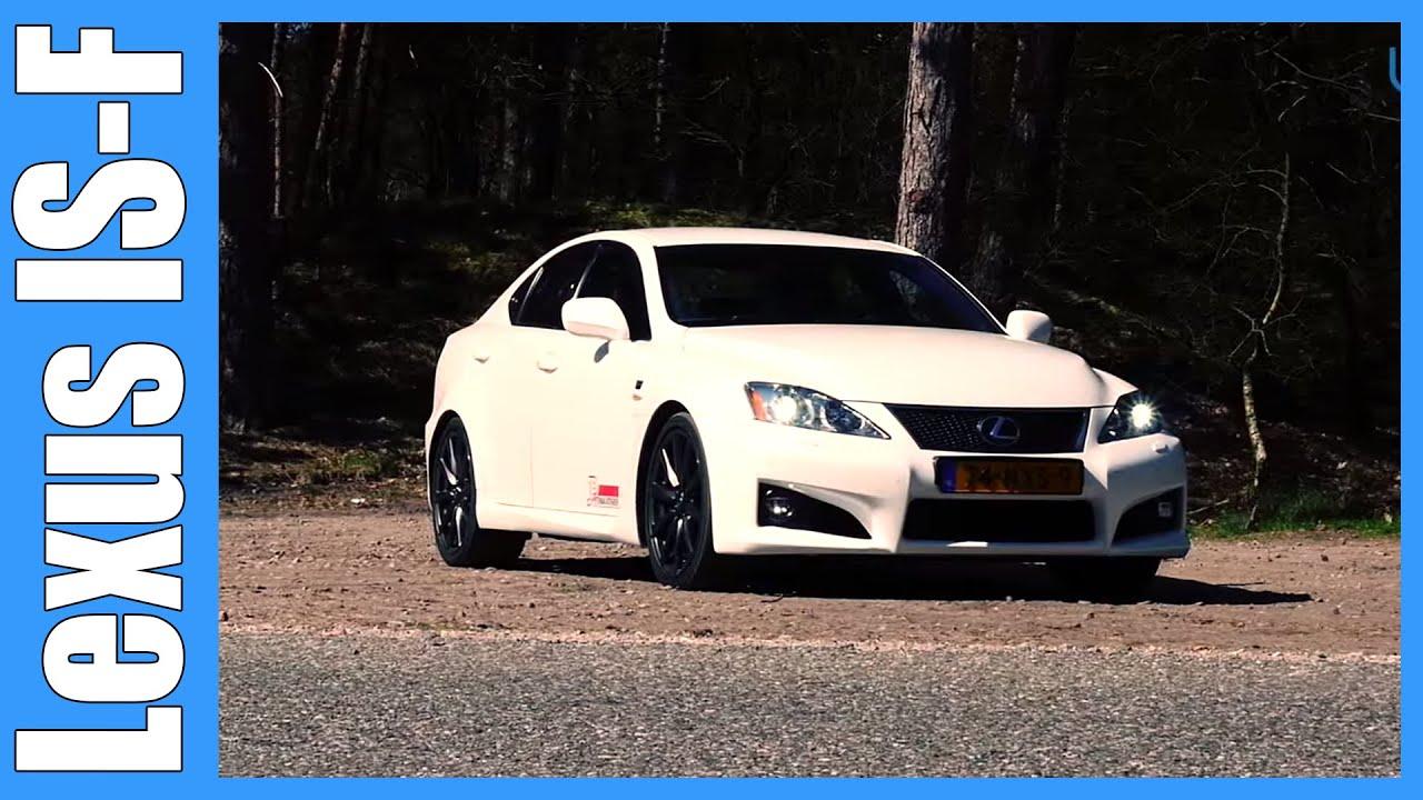 Lexus IS F 5.0 V8 Review | F Genesis (English Subtitles ...