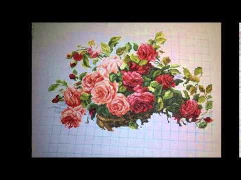 Набор для вышивки королевские розы