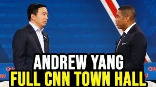 Andrew Yang Full CNN Presidential Town Hall | February 5th 2020