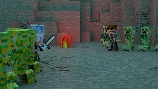 The Battle of the Creepers Minecraft Animation